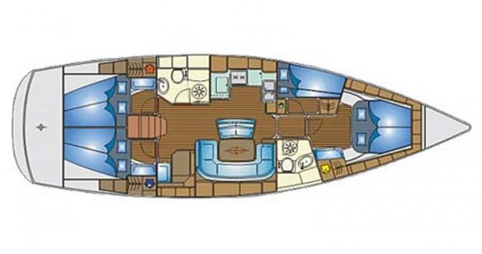 Location bateau Skiathos pas cher Bavaria 46 Cruiser