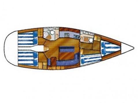 Louez un Dufour Dufour Gib Sea 43 à Gouviá