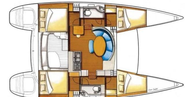 Location yacht à Álimos - Lagoon Lagoon 380 sur SamBoat