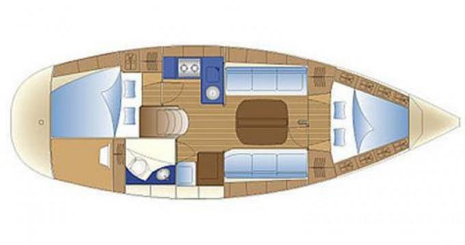 Location bateau Skiathos pas cher Bavaria 32