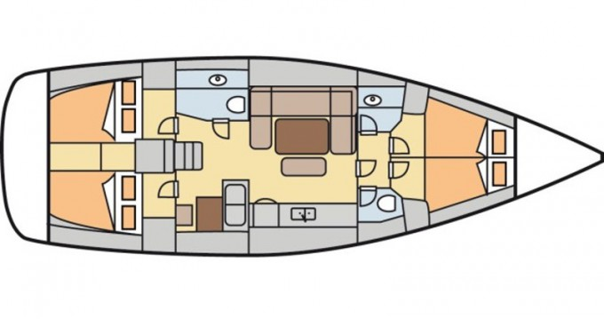 Location bateau Kalkara pas cher Dufour 450