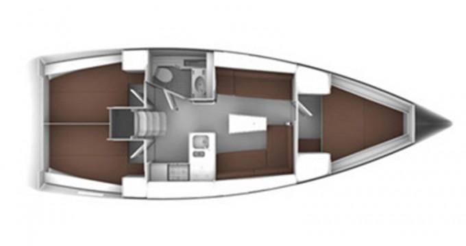 Location bateau Propriano pas cher Cruiser 37