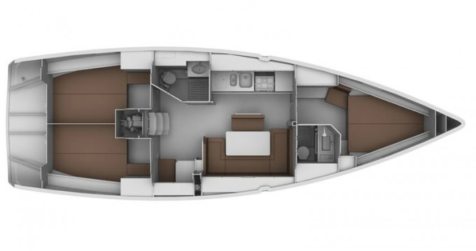 Location bateau Zadar pas cher Cruiser 40