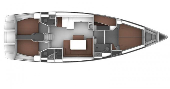 Location Voilier à Skiathos - Bavaria Cruiser 51