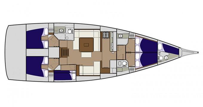 Location Voilier à Zadar - Dufour Dufour 560