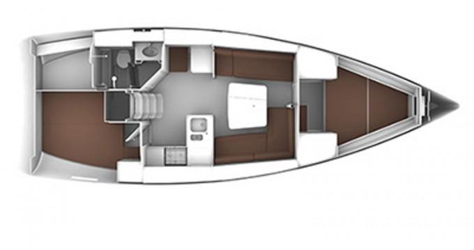 Location bateau Bavaria Cruiser 37 à Veruda sur Samboat