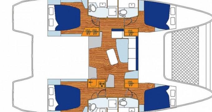 Location bateau Rodney Bay pas cher Sunsail 424