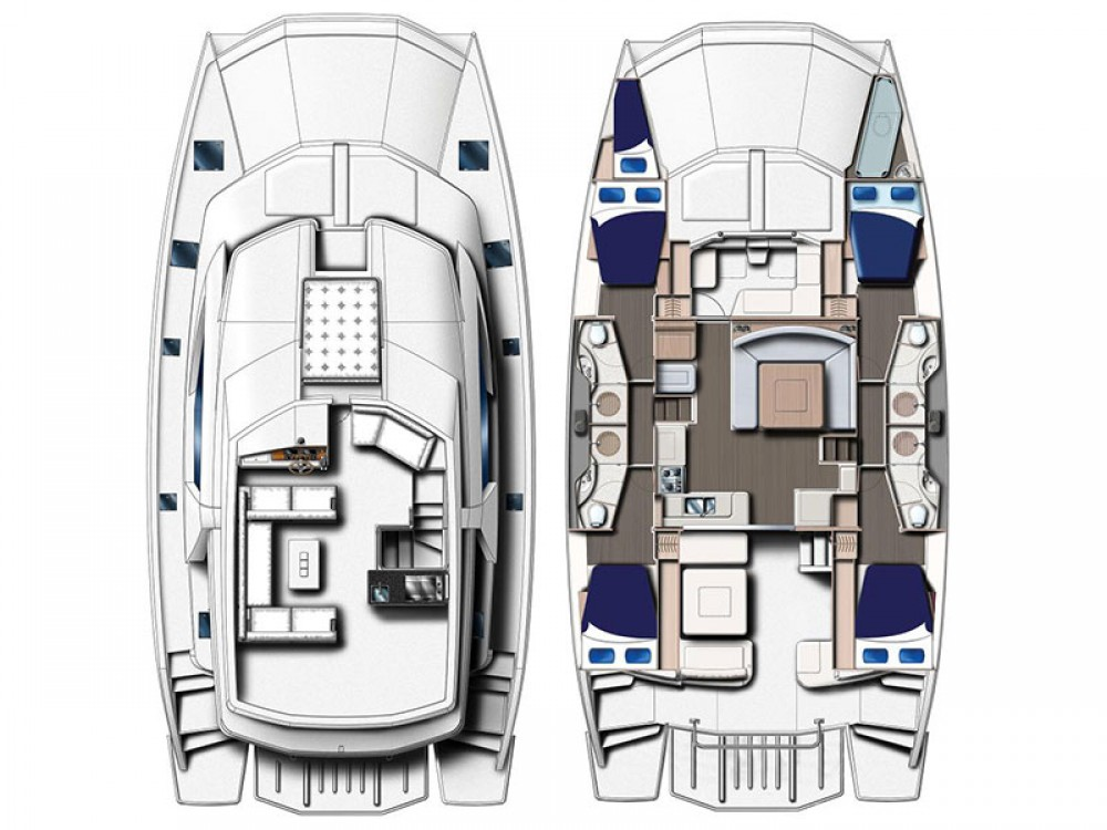 Location yacht à Phuket - Leopard Moorings 514 PC sur SamBoat