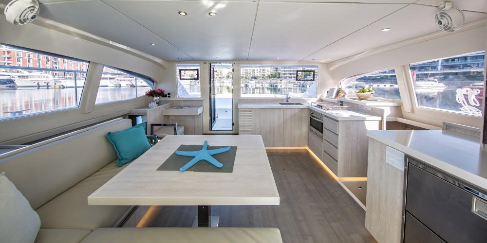 Location Catamaran à Marina Gouvia - Leopard Moorings 434 PC