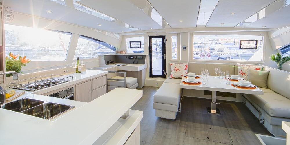 Location bateau Leopard Moorings 4800 à Castries sur Samboat
