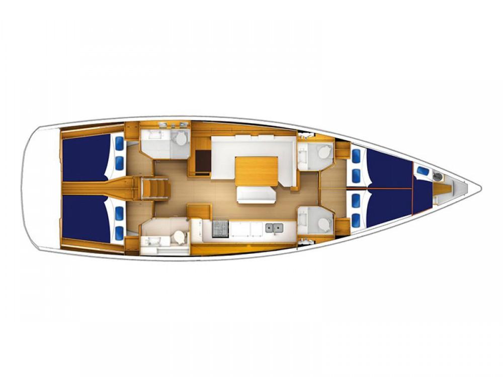 Location bateau Jeanneau Moorings 51.4 à Road Town sur Samboat