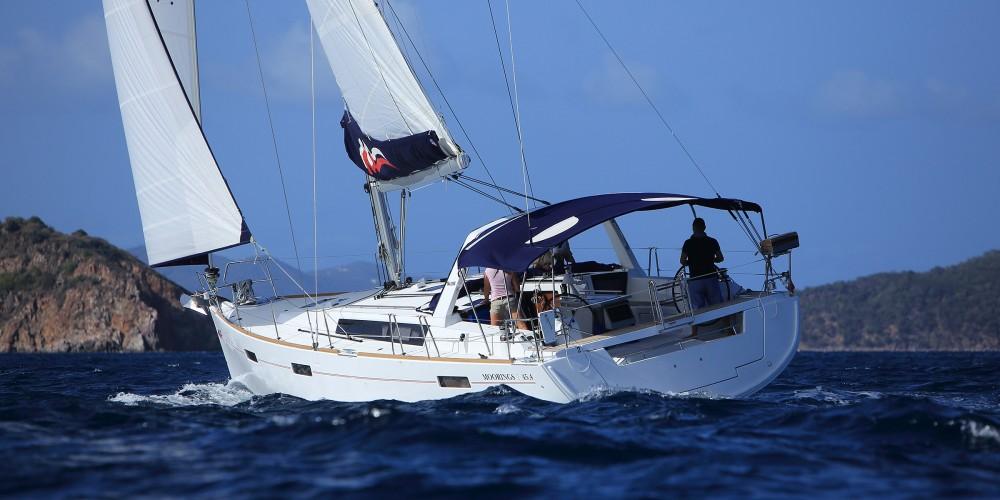 Location bateau Marina Gouvia pas cher Moorings 45.4