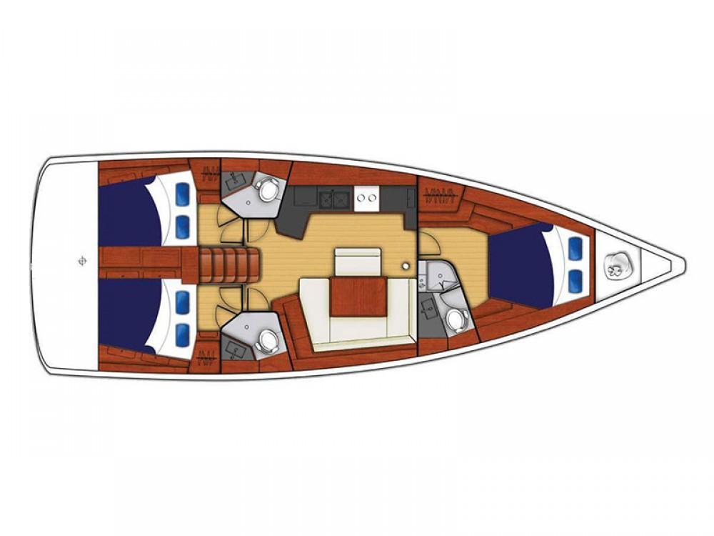 Location bateau Marina Gouvia pas cher Moorings 45