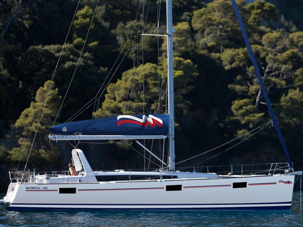 Location bateau Bénéteau Moorings 48.4 à Marigot sur Samboat