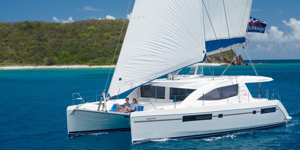 Location Catamaran à Victoria - Leopard Moorings 4800