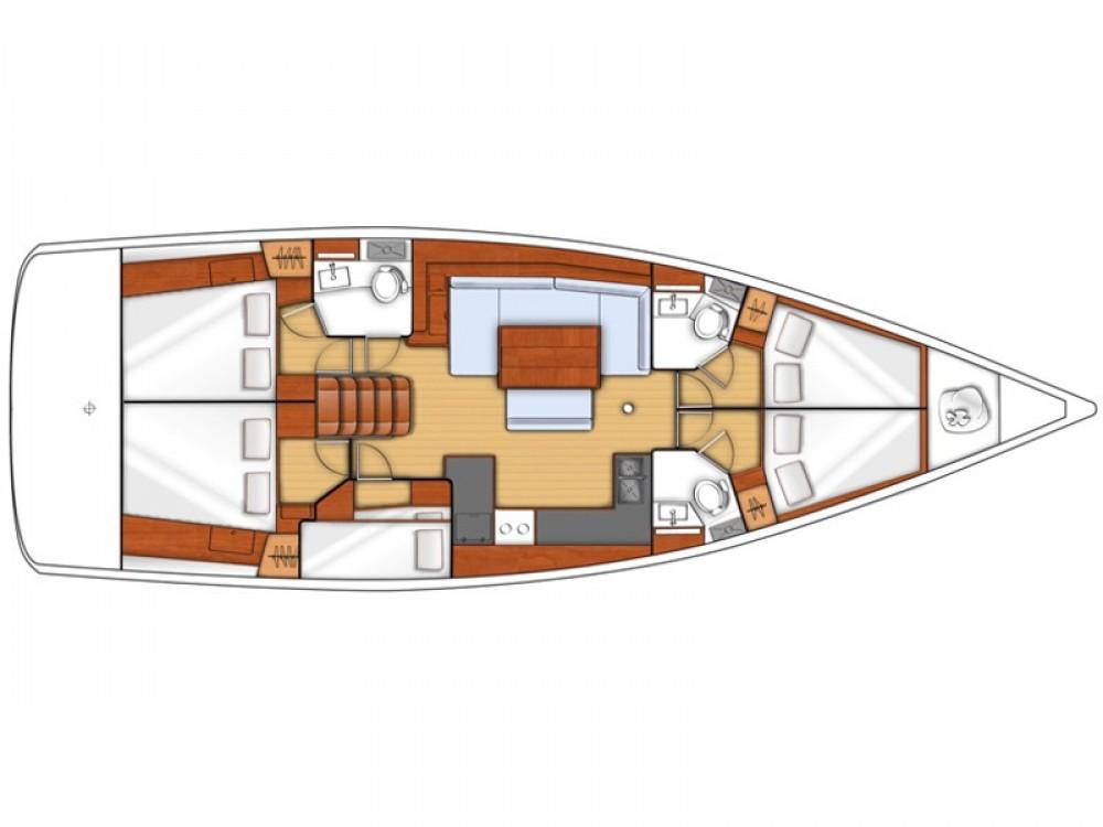 Location bateau Bénéteau Oceanis 48 à Procida sur Samboat
