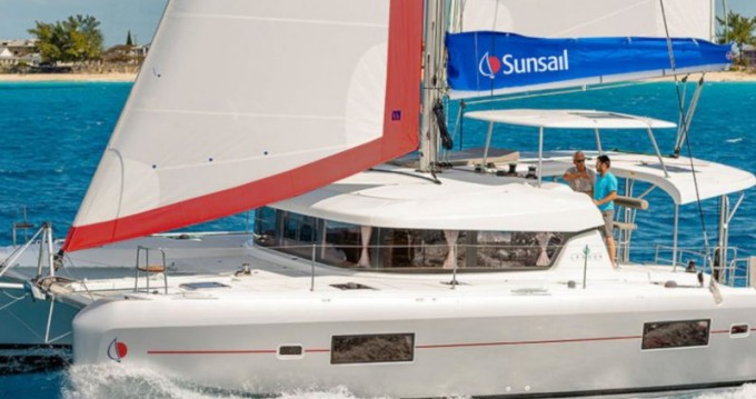 Location bateau Lagoon Sunsail 424 à Placencia sur Samboat