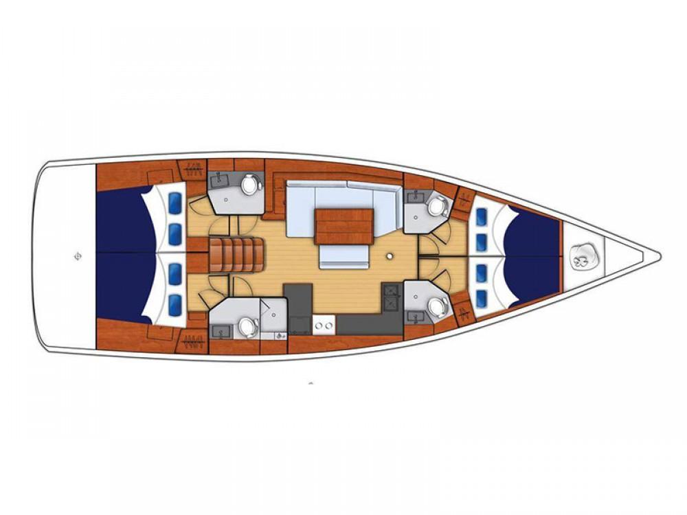 Location bateau Bénéteau Moorings 48.4 à Road Town sur Samboat
