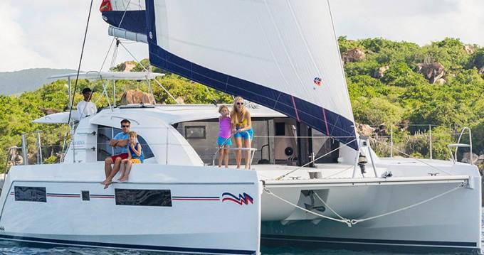 Location Catamaran à Placencia - Leopard Moorings 4000/3