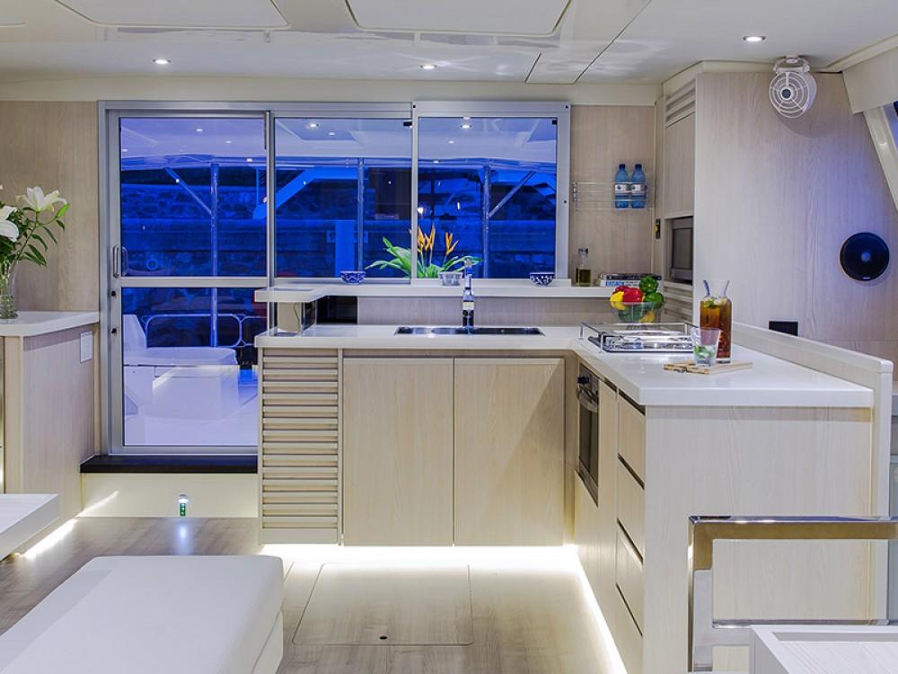 Location bateau Leopard Moorings 514 PC à Victoria sur Samboat