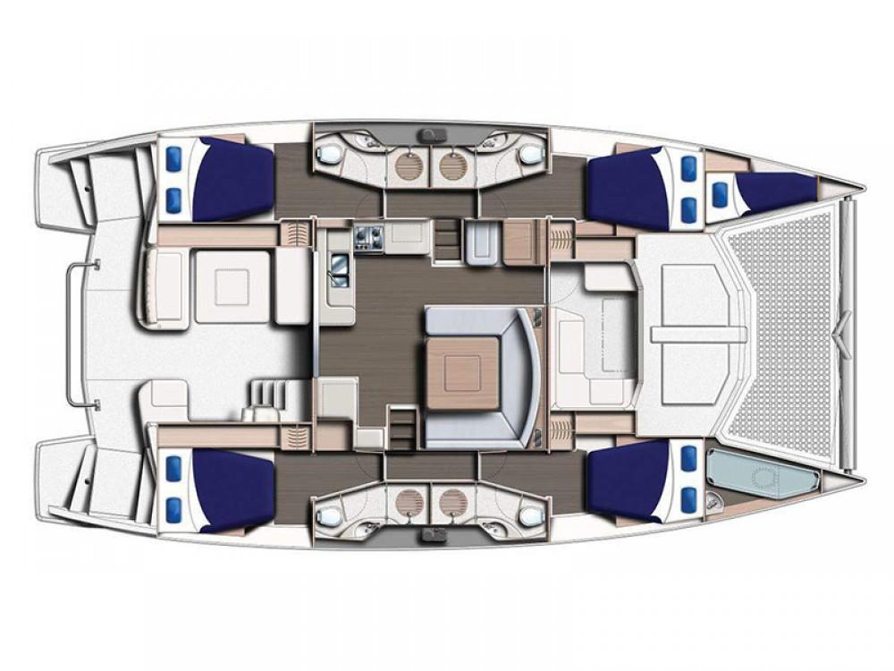 Location Catamaran à Marina Gouvia - Leopard Moorings 4800