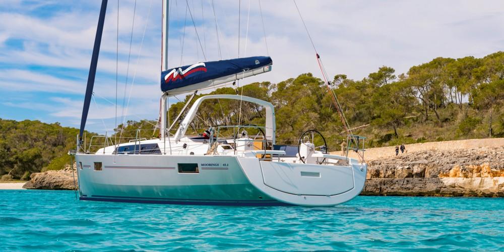 Location yacht à Procida - Bénéteau Moorings 42.3 sur SamBoat
