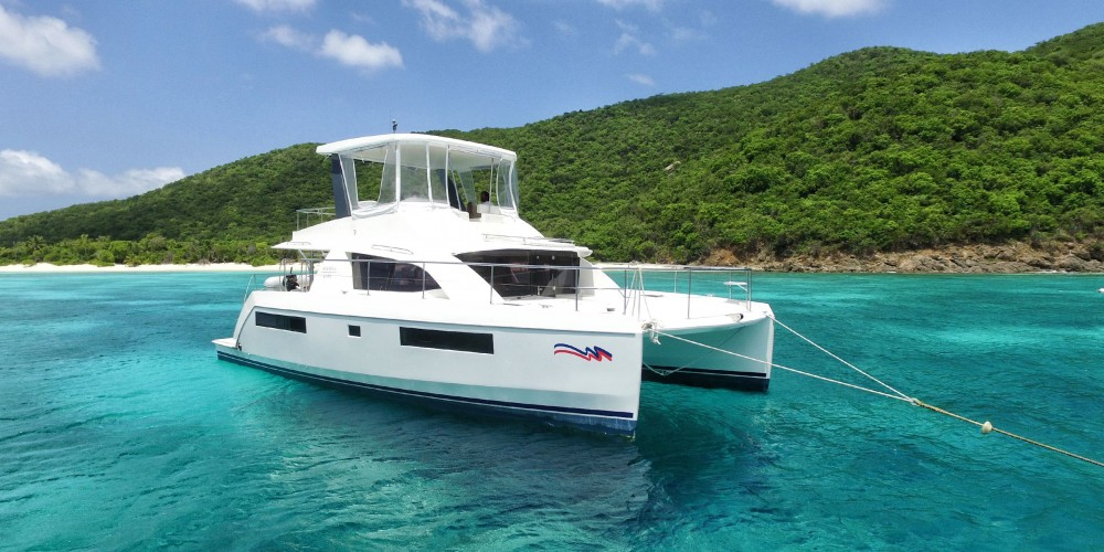 Location Catamaran à Marina Naviera Balear - Leopard Moorings 434 PC