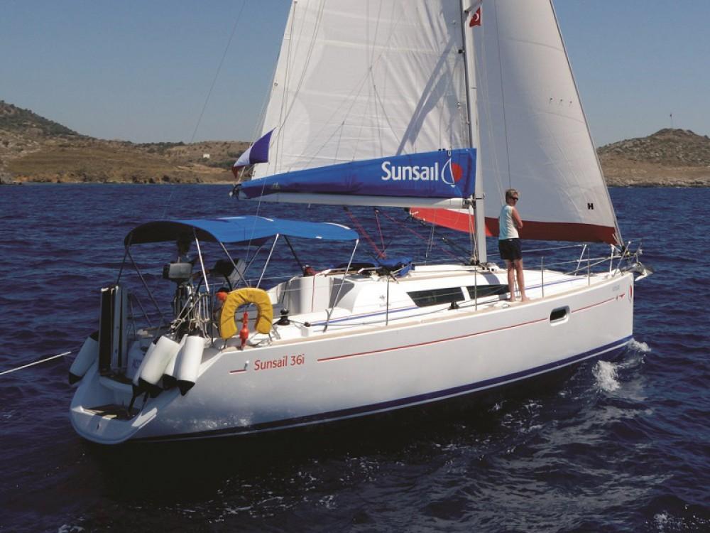 Location bateau Jeanneau Sunsail 36i à Leucade sur Samboat