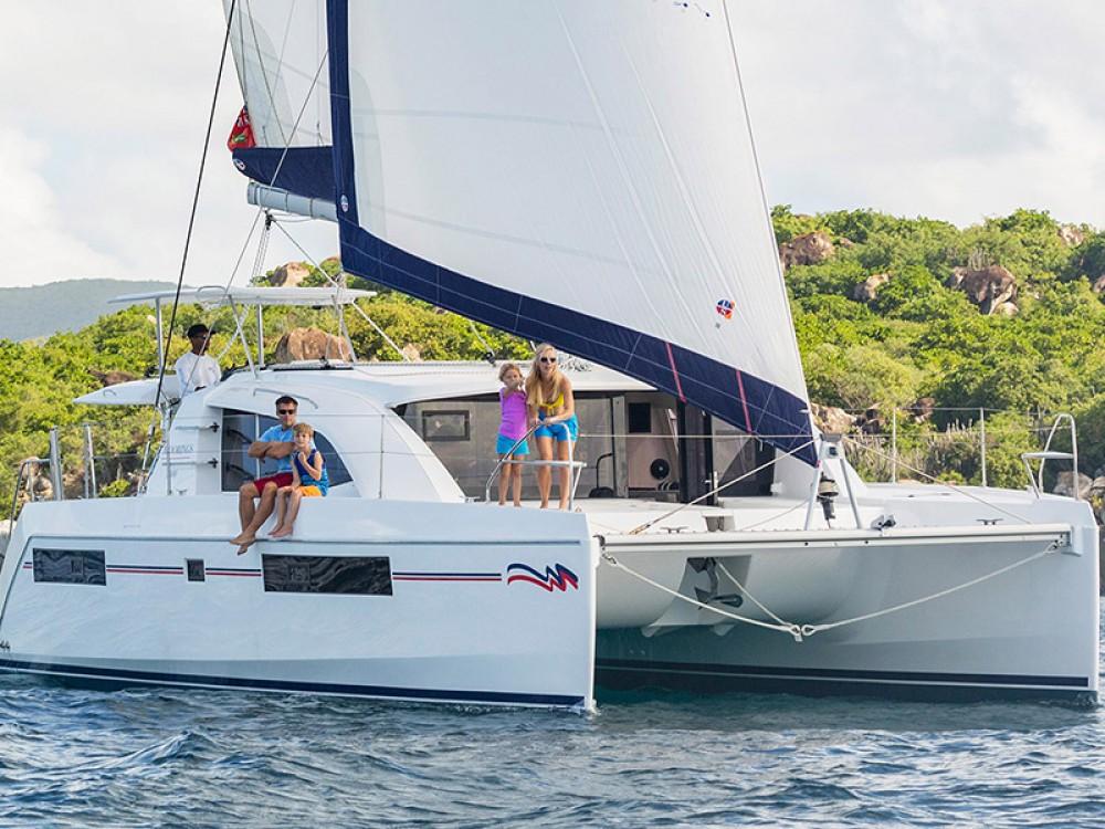 Location Catamaran à Îles Sous-le-Vent - Leopard Moorings 4000/3