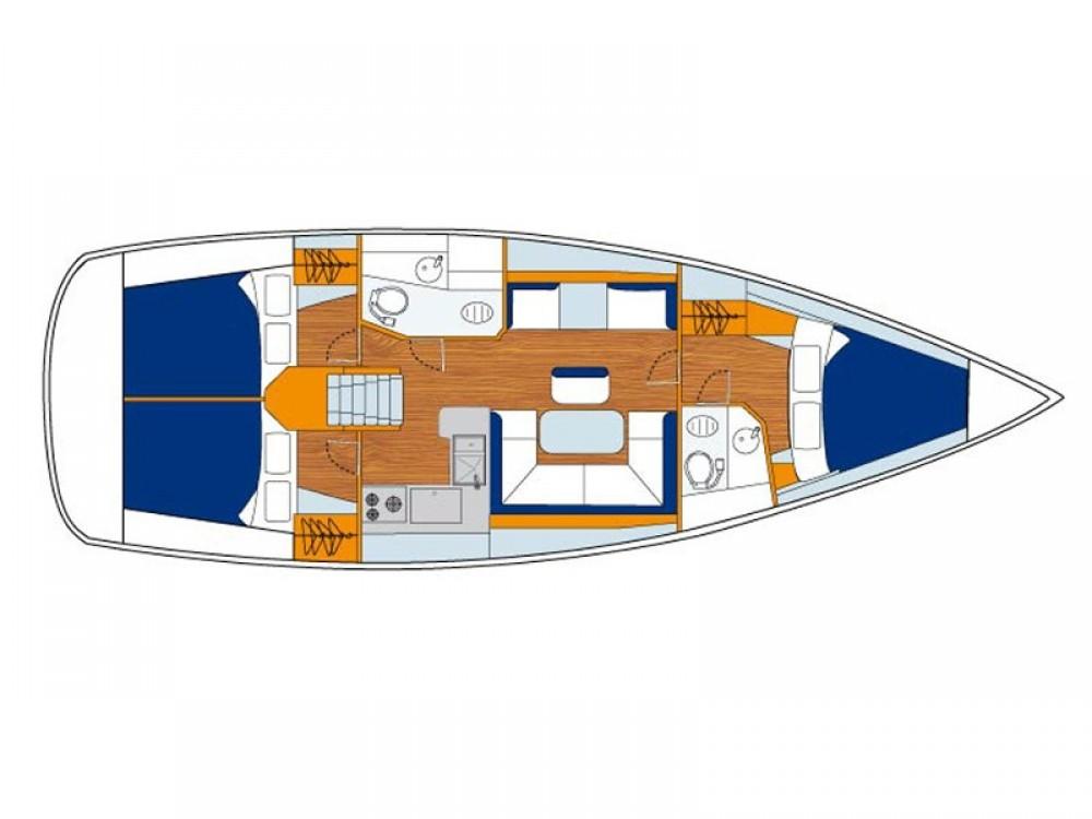 Louez un Jeanneau Sunsail 41 à ACI Marina Dubrovnik