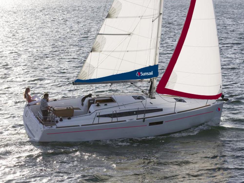 Location bateau Leucade pas cher Sunsail 34- 2/1