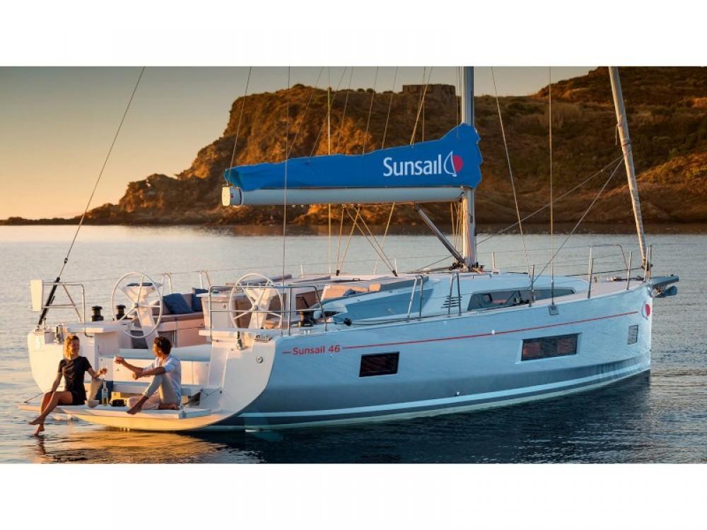 Location bateau Road Town pas cher Sunsail 46 Mon
