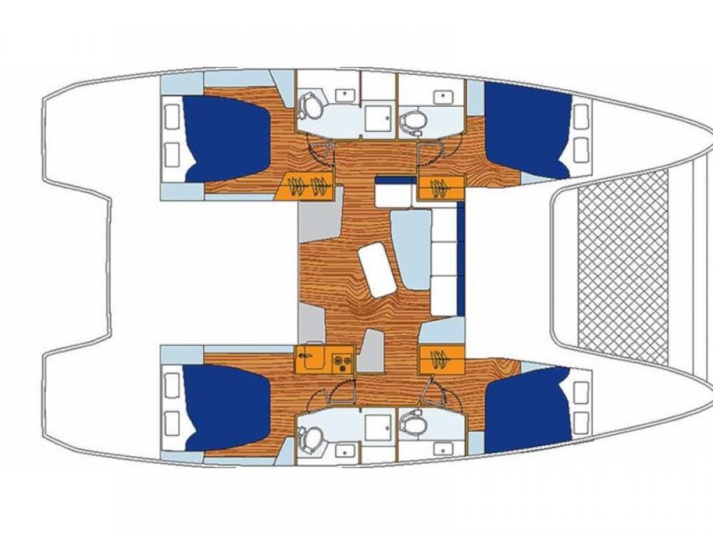 Lagoon Sunsail 424 entre particuliers et professionnel à