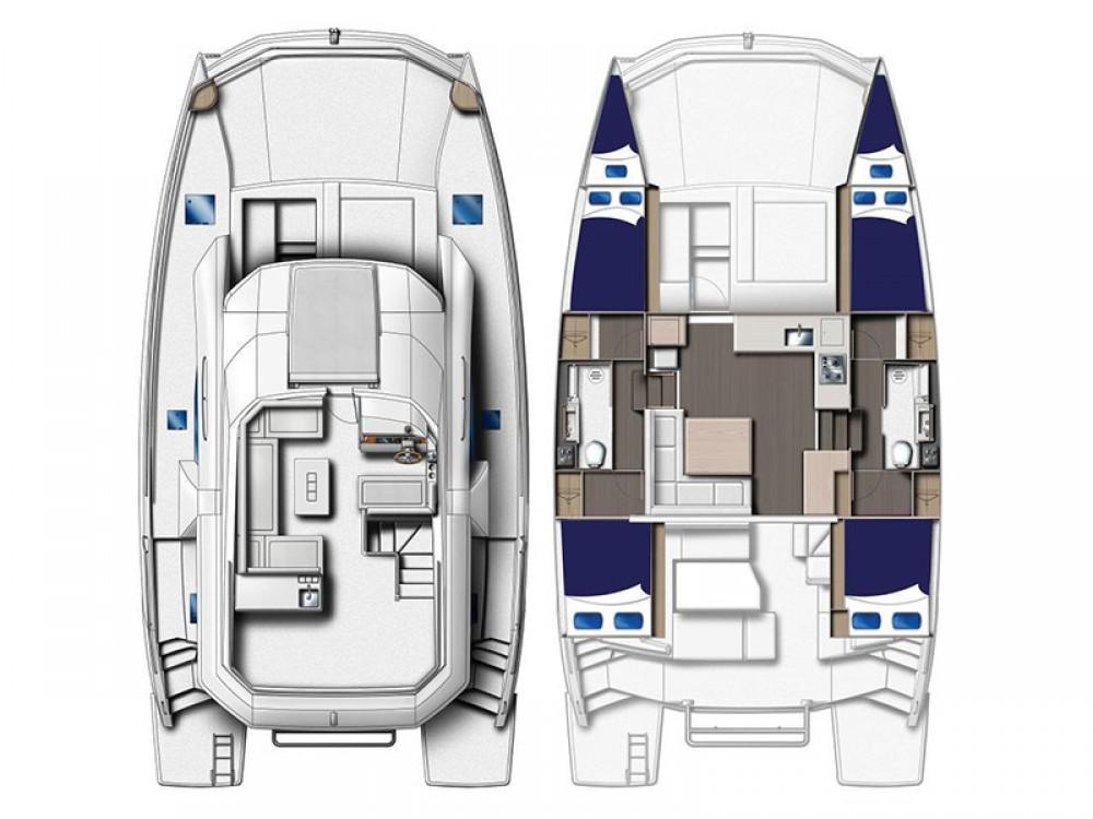 Location yacht à Marina - Leopard Moorings 434 PC sur SamBoat