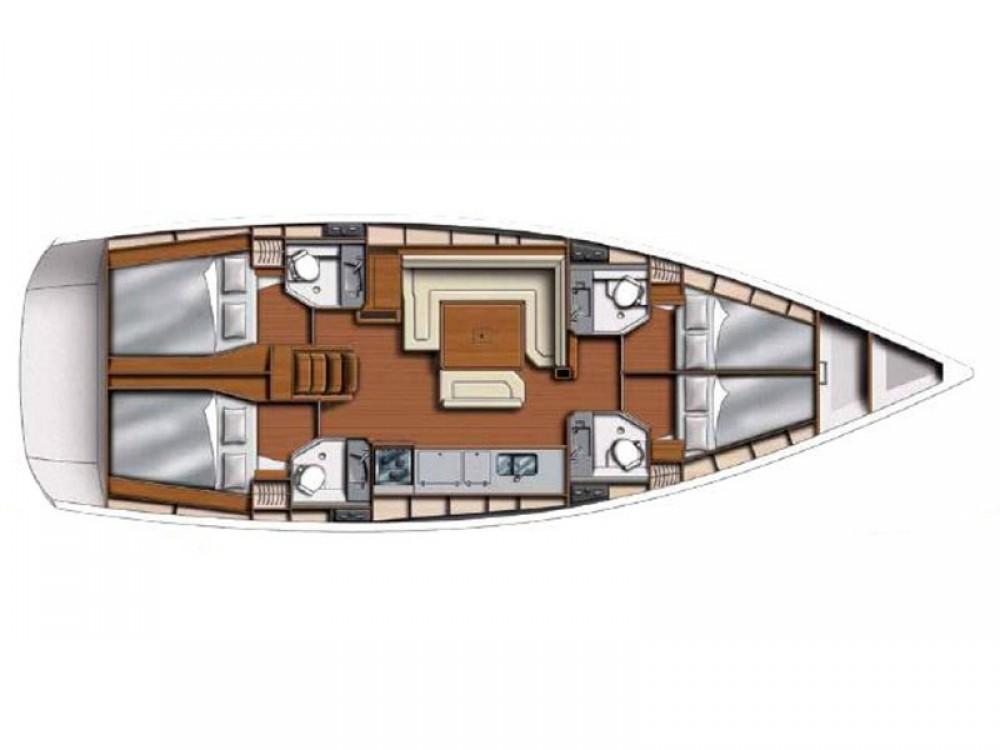 Location bateau Marina Gouvia pas cher Sunsail 47