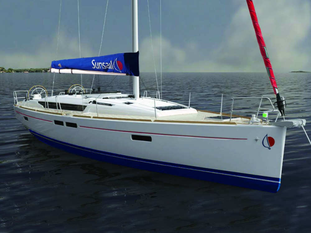 Location yacht à Marina Gouvia - Jeanneau Sunsail 47 sur SamBoat