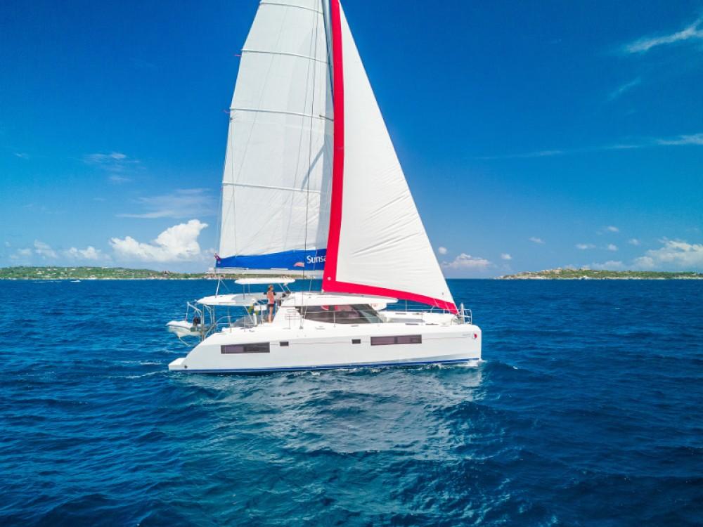 Location bateau Leopard Sunsail 454-10 à Marina Gouvia sur Samboat