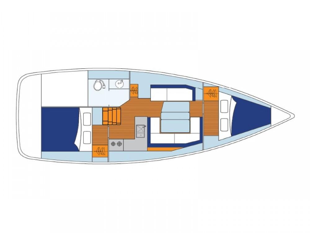 Louez un Jeanneau Sunsail 34- 2/1 à ACI Marina Dubrovnik