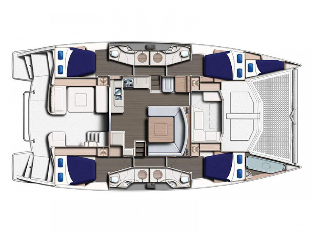 Location yacht à Procida - Leopard Moorings 4800 sur SamBoat