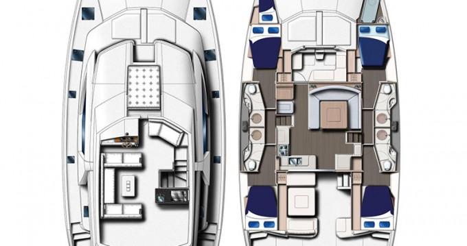 Location bateau Leopard Moorings 514 PC à  sur Samboat