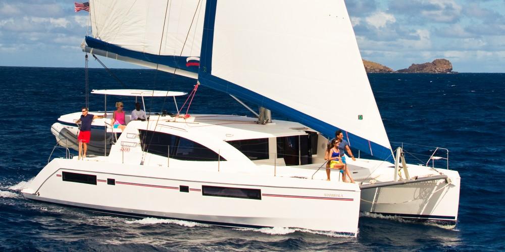 Location Catamaran à Marina - Leopard Moorings 4800