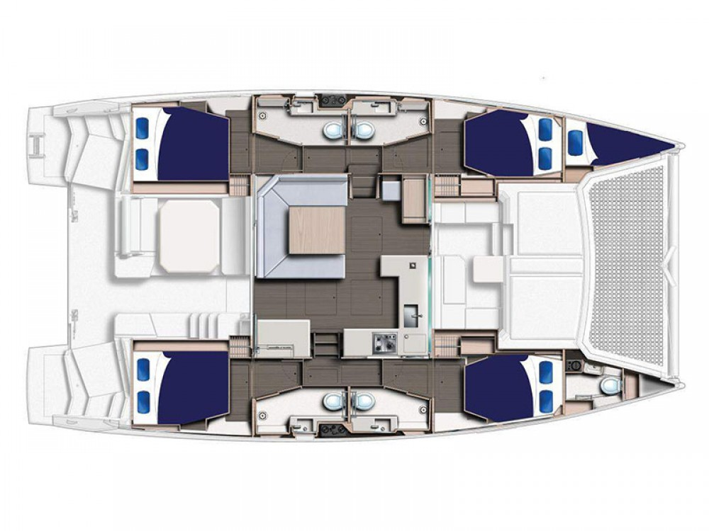 Location Catamaran à Road Town - Leopard Moorings 4500