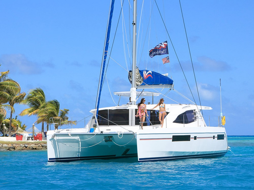Location Catamaran Leopard avec permis