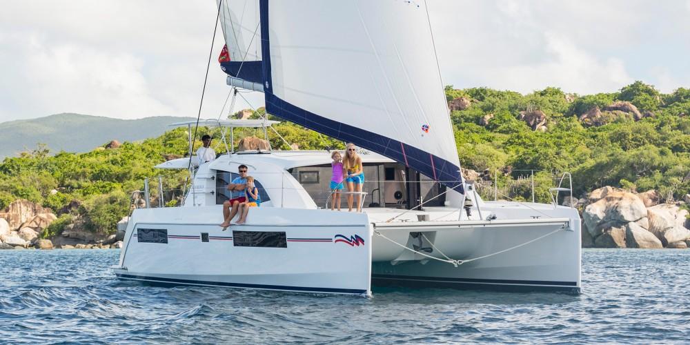 Location bateau Leopard Moorings 4000/3 à Îles Sous-le-Vent sur Samboat