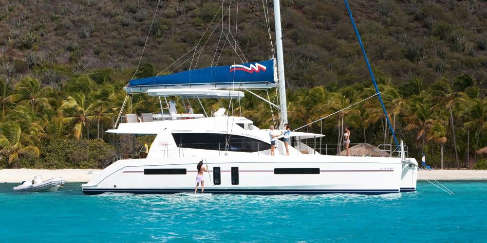 Location Catamaran à Road Town - Leopard Moorings 5800