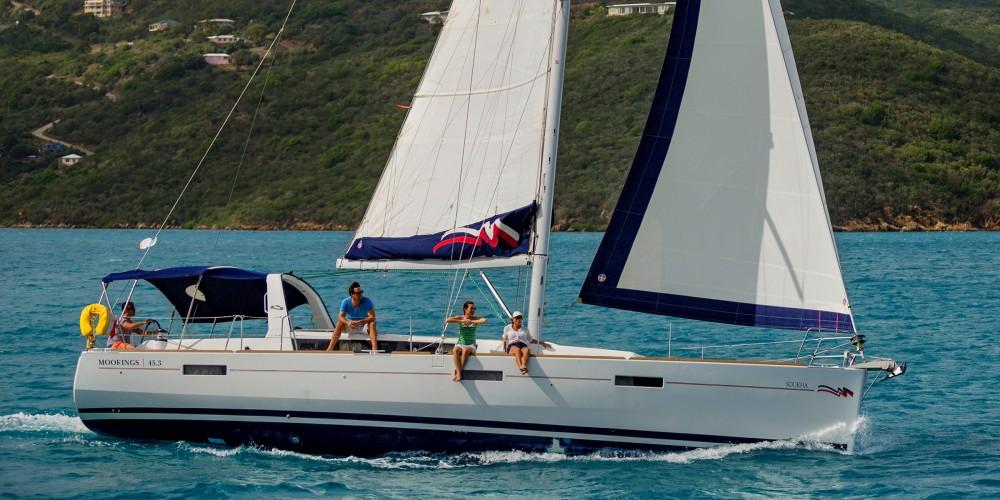 Location yacht à Saint-Georges - Bénéteau Moorings 453 sur SamBoat