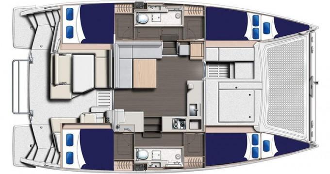 Location yacht à Placencia - Leopard Moorings 4000 sur SamBoat