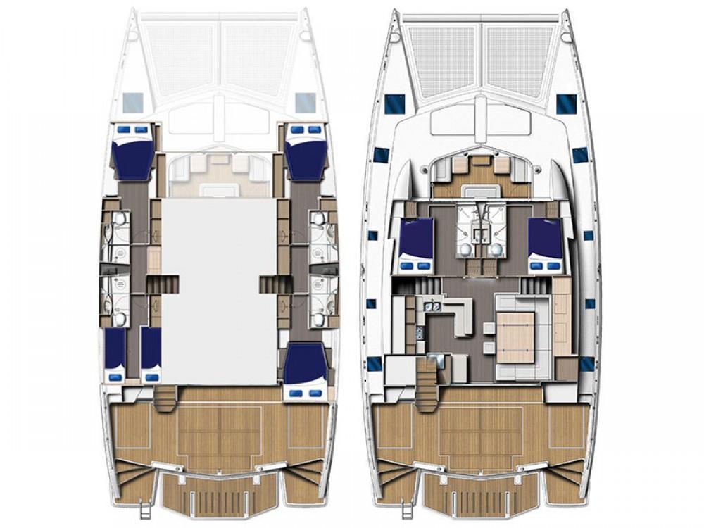 Location yacht à Îles Sous-le-Vent - Leopard Moorings 5800 sur SamBoat