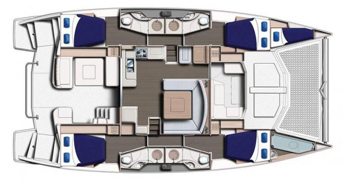 Location bateau Leopard Moorings 4800 à Saint-Georges sur Samboat