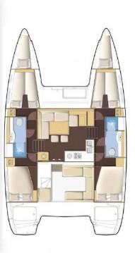 Location bateau Athènes pas cher Lagoon 400 S2